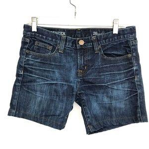 J. Crew toothpick denim shorts jeans bermuda
